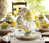 Charming Easter centerpieces and springy table decor ideas to get your Easter party hopping Part 6