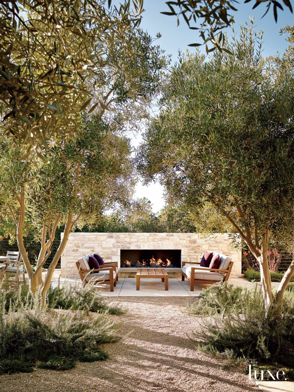 Classic mainstay of an outdoor space with the fire pit many of us would spend fond evenings relaxing around the fire Part 24