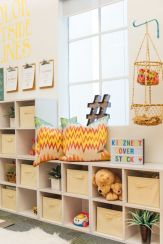 Clever DIY storage and organization ideas are effective for kids playing rooms Part 5