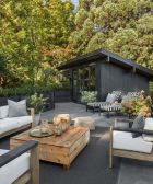 Creative adjustments that will enhance the coziness of the outdoor living space Part 29