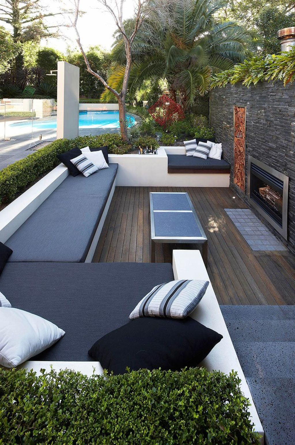 Creative adjustments that will enhance the coziness of the outdoor living space Part 34