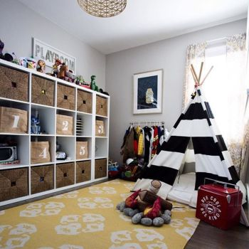 Effective kids room storage that will help you to get less mess and better rest Part 32
