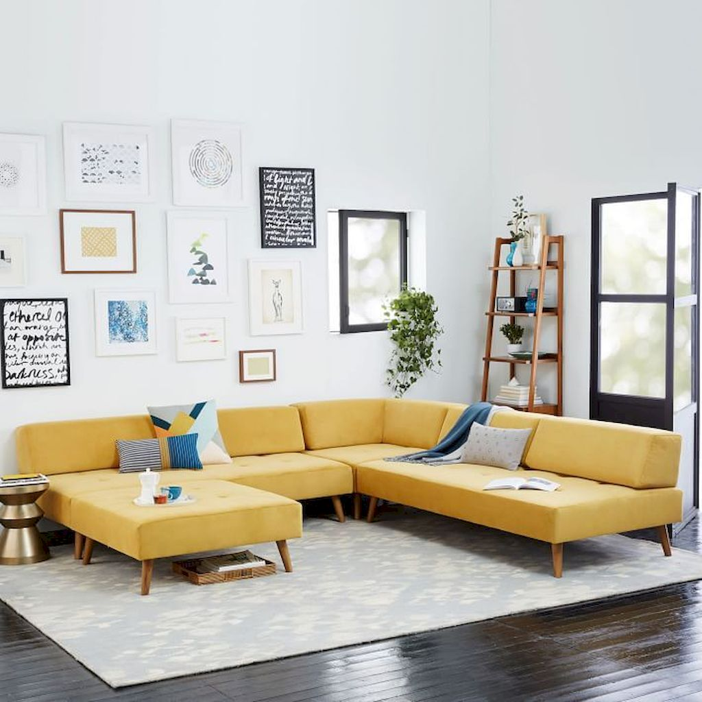Elegant Living Room Design With Multi Layers Coloring Concept Part 1