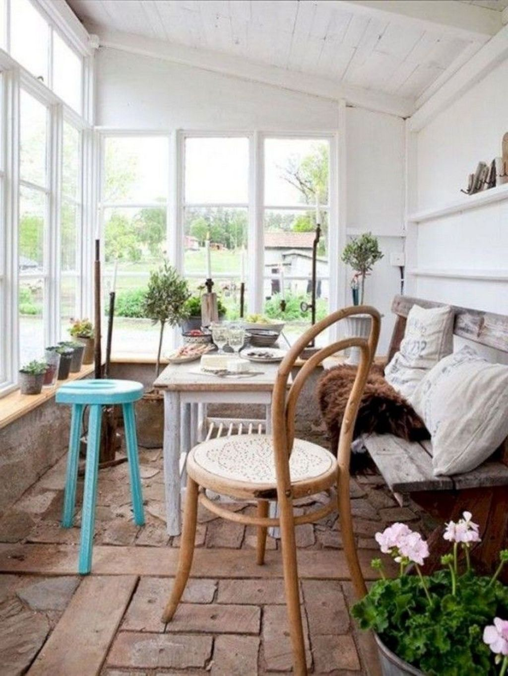 Most Popular Affordable Sunroom Design Ideas for 2019 Part 15