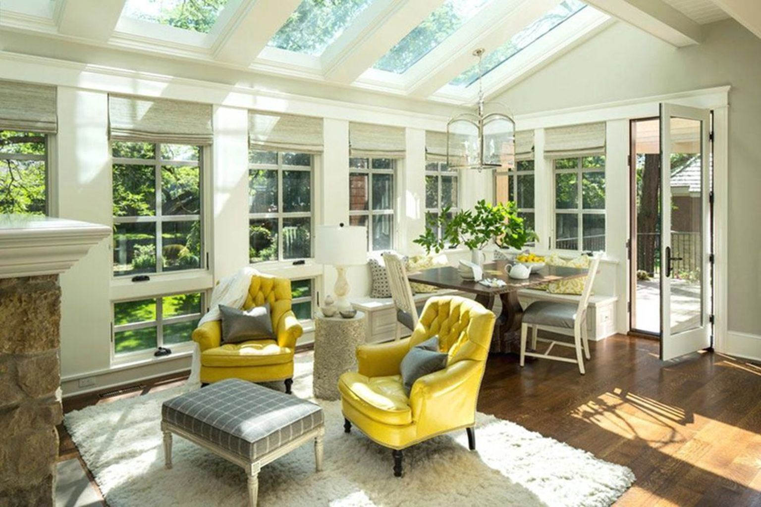 Most Popular Affordable Sunroom Design Ideas for 2019 Part 6