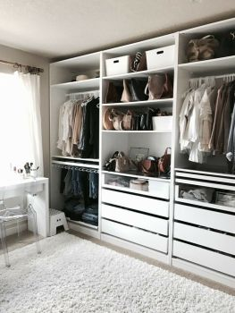 Small Space Closet Designs with Neat and Effective Organization Tricks (18)