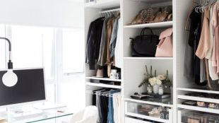 Small Space Closet Designs with Neat and Effective Organization Tricks (26)
