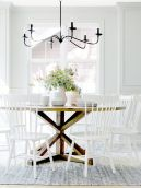 Traditional Chandelier Designs for Dining Rooms that Add Interiors Vintage Charms Part 10