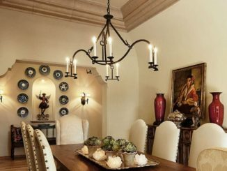 Traditional Chandelier Designs for Dining Rooms that Add Interiors Vintage Charms Part 19