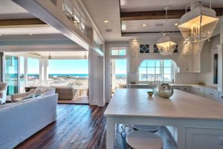 Beach home dining room style giving a fresh vibe among inviting recreational interior update Image 18