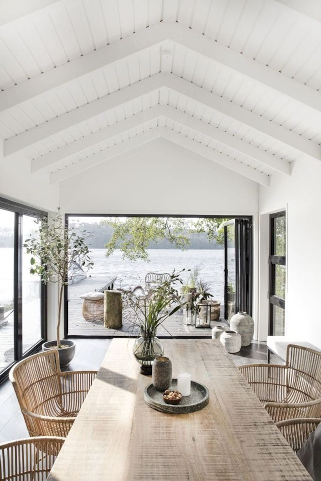 Beach home dining room style giving a fresh vibe among inviting recreational interior update Image 3
