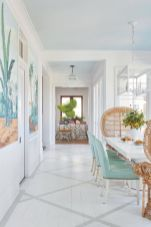 Beach home dining room style giving a fresh vibe among inviting recreational interior update Image 6
