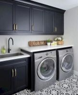 Classy laundry room update with first class finishing to make a functional room that looks elegant and stylish Image 19