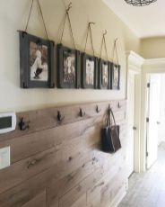Clever rustic touch exploiting wood pallets wall accent that enhances contemporary home update and also effective in twisting decoration style Image 8