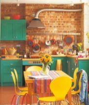 Coastal cottage kitchen style with rustic touching giving a perfect beach house vibes for interior retreat Image 22