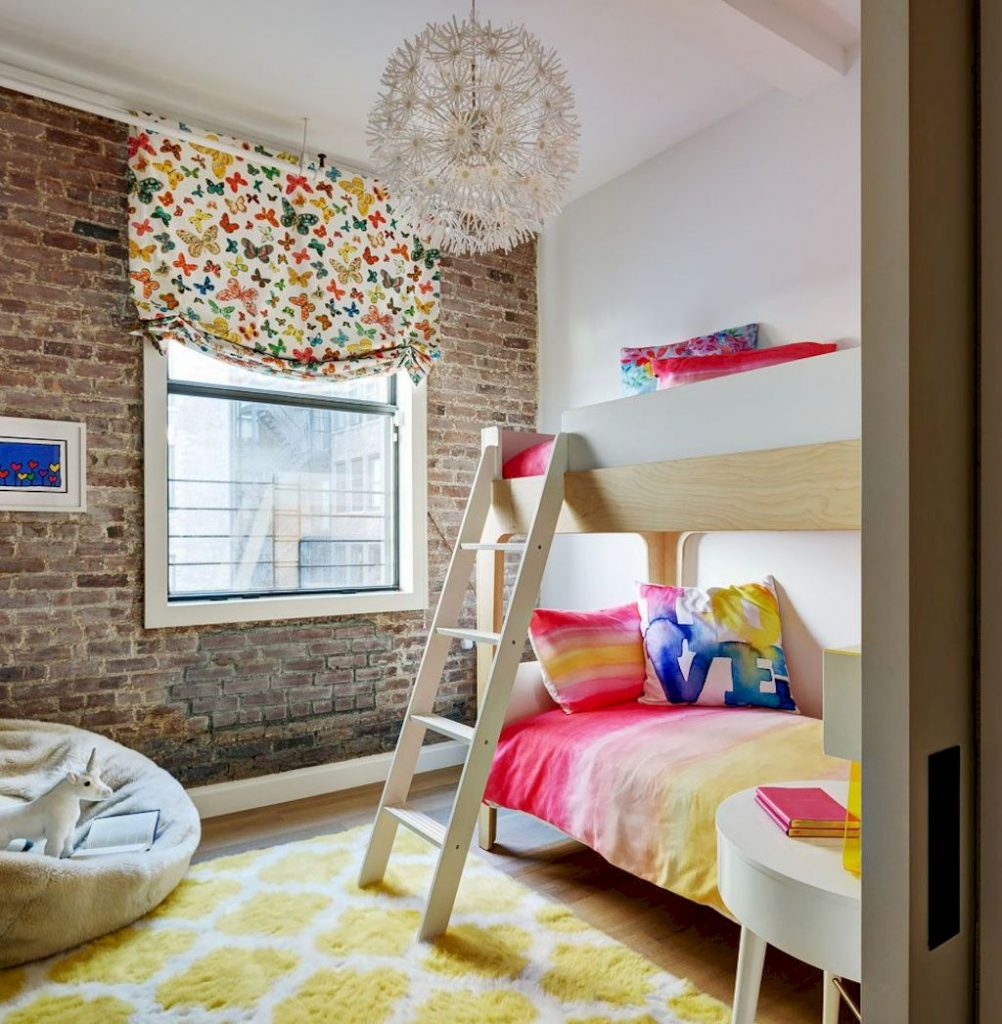 Cozy chic kids bedrooms with a modern touching style that are very lovely with pastel color accent and beautiful decoration Image 20