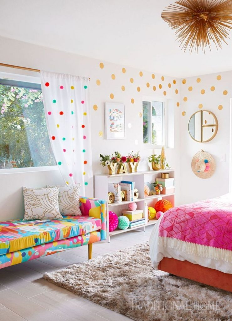 Cozy chic kids bedrooms with a modern touching style that are very lovely with pastel color accent and beautiful decoration Image 8