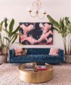 Easy interior updates with artistic textile decorations giving freestyle home style that rich of diverse and eclectic accents Image 27