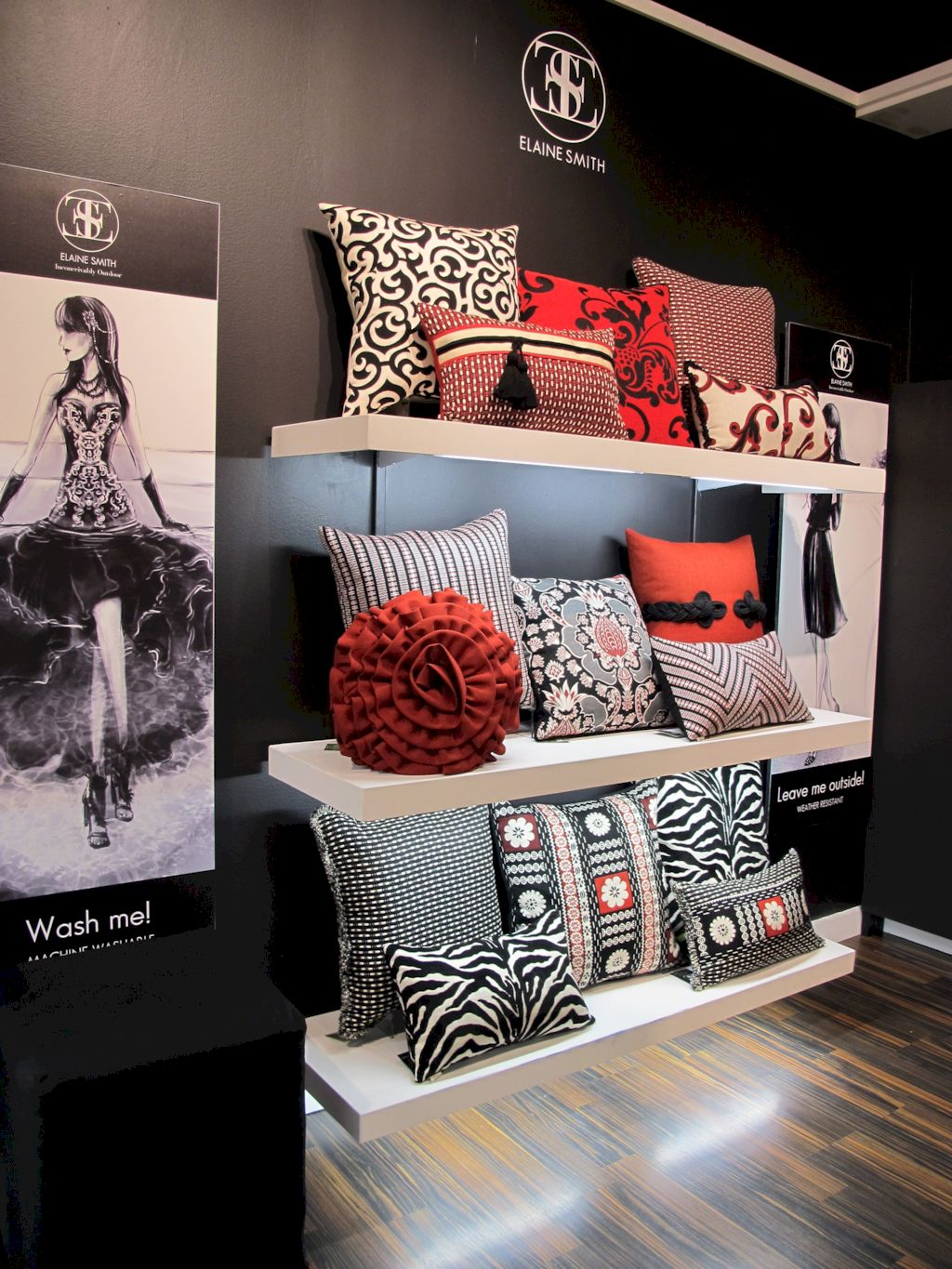 Easy interior updates with artistic textile decorations giving freestyle home style that rich of diverse and eclectic accents Image 38
