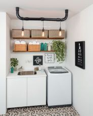 Easy tricks to make a Scandinavian style laundry room which will give a perfect refreshment in simple and sleek designs Image 18