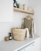 Easy tricks to make a Scandinavian style laundry room which will give a perfect refreshment in simple and sleek designs Image 2