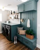 Easy tricks to make a Scandinavian style laundry room which will give a perfect refreshment in simple and sleek designs Image 22