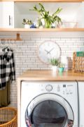 Easy tricks to make a Scandinavian style laundry room which will give a perfect refreshment in simple and sleek designs Image 28