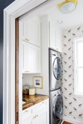 Making a simple laundry room update to maximize its function and look together with cheap accessories and simple layout designs Image 13