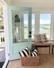 Refreshing home design with a coastal living theme and beach house style perfect inspirations for summer home updates Image 41