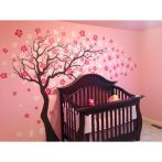 Refreshing sticker art wall decal giving floral accessories refreshing kids and nursery rooms wall design ideas Image 25