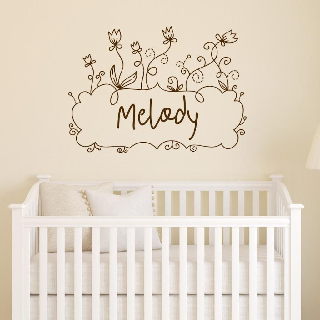 Refreshing sticker art wall decal giving floral accessories refreshing kids and nursery rooms wall design ideas Image 28