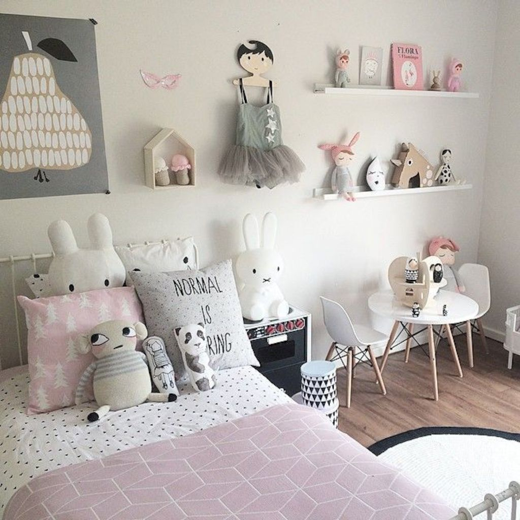 Shabby chic childrens rooms and nurseries with simple and beautiful decorations Image 39