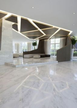 Amazing office interior ideas with unique and unconventional false ceiling designs Image 19