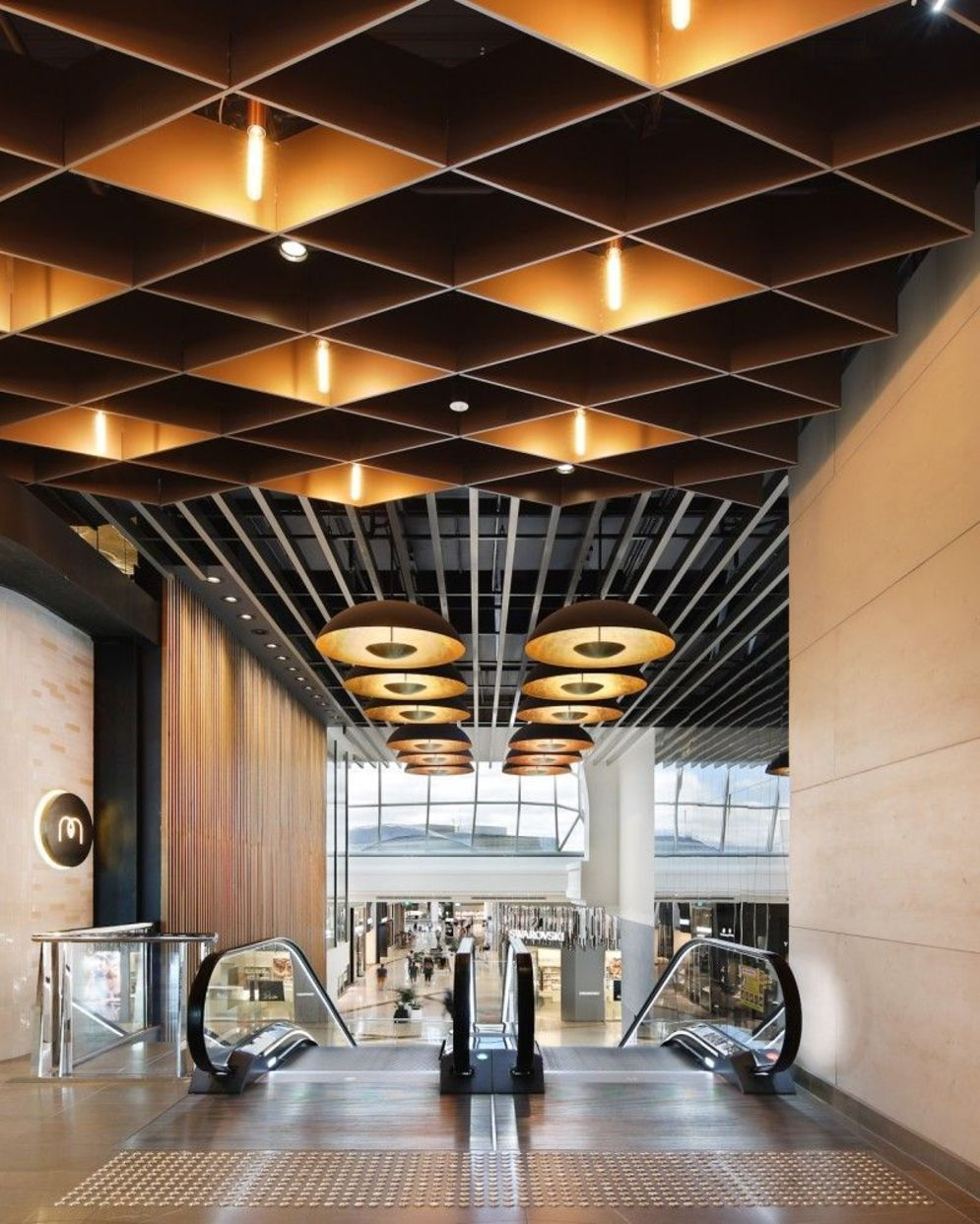 Amazing office interior ideas with unique and unconventional false ceiling designs Image 5