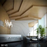 Amazing office interior ideas with unique and unconventional false ceiling designs Image 7