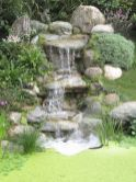Amazing waterfall ideas giving the best look and panoramic schemes for your landscaping style Image 4