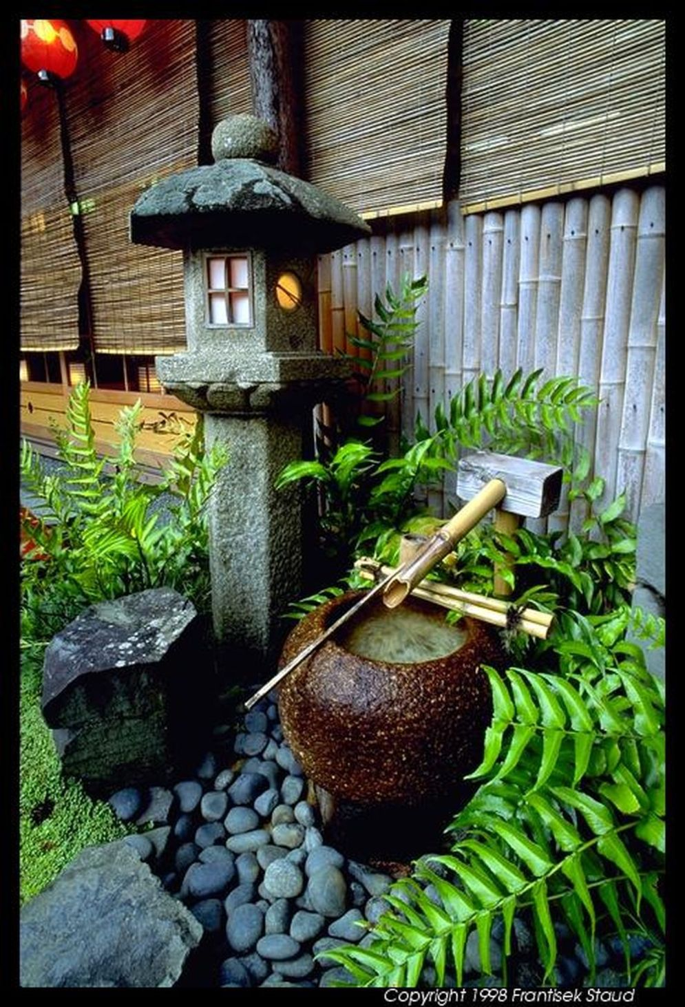 Beautiful Zen garden style with peaceful arrangements creating peaceful and harmonies display that will calm our mind Image 19