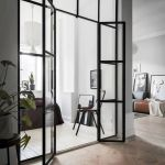Bright home concepts with modern style of glass partition giving vast interior sense of space Image 5