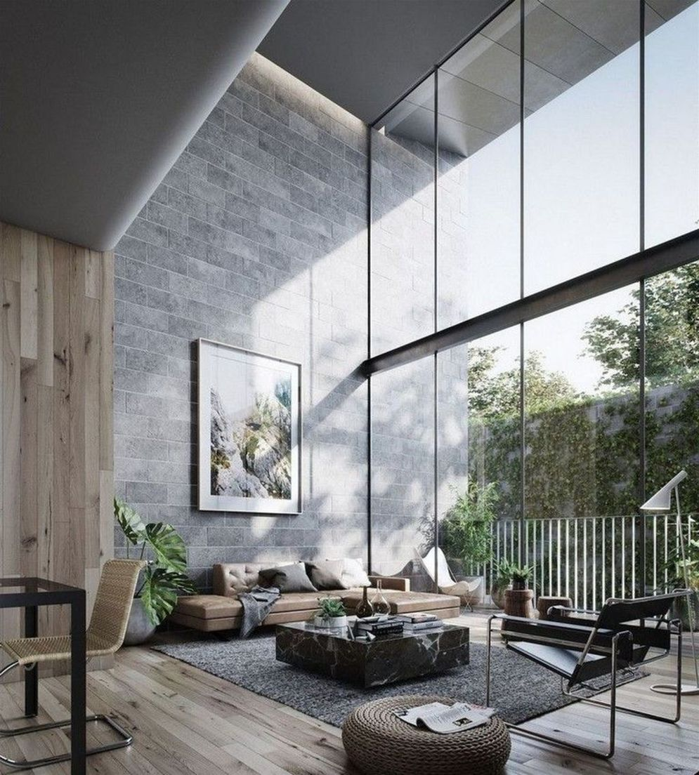 Bright home concepts with modern style of glass partition giving vast interior sense of space Image 7