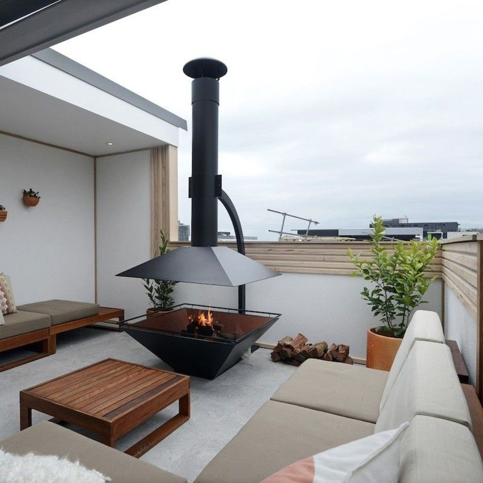 Brilliant apartment balcony ideas converted into cozy living space Image 11