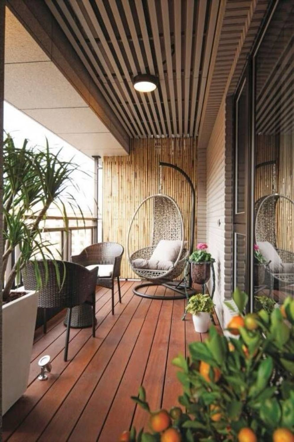 Brilliant apartment balcony ideas converted into cozy living space Image 6