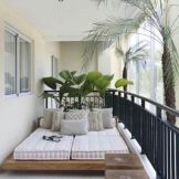 Brilliant apartment balcony ideas converted into cozy living space Image 9