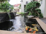 Brilliant landscape decoration of natural small fish ponds that you can make yourself Image 2