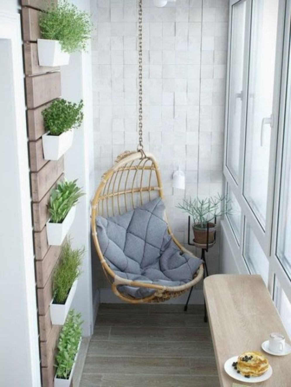 Clever apartment balcony conversion maximizing small space into functional living area Image 27
