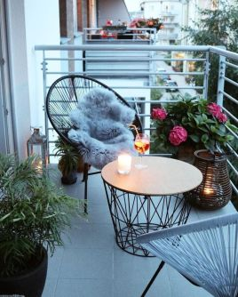 Clever apartment balcony conversion maximizing small space into functional living area Image 33