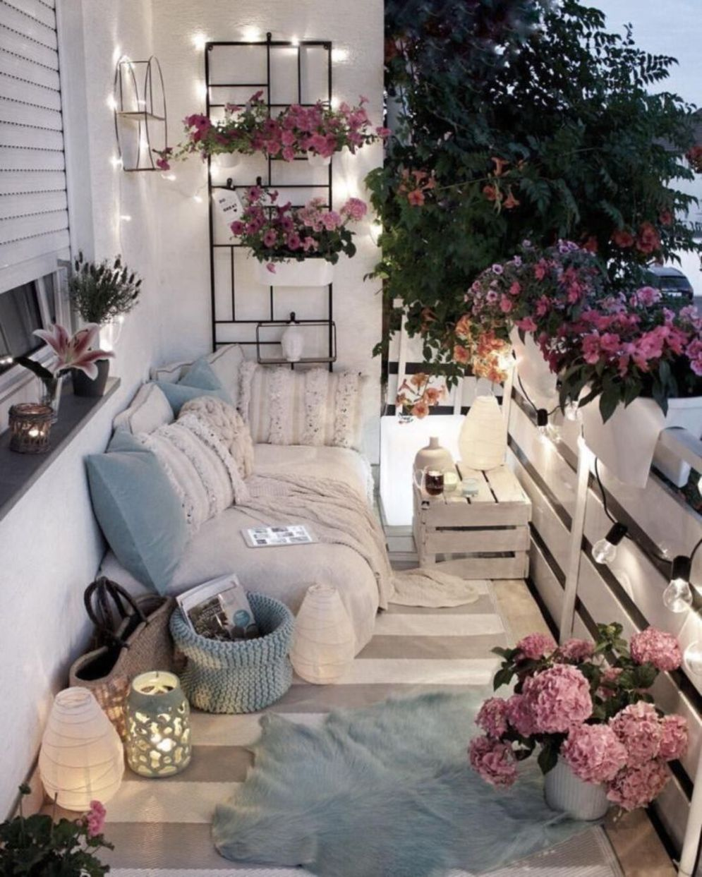 Clever apartment balcony conversion maximizing small space into functional living area Image 36