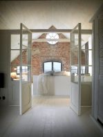 Clever ideas to make exotic interior update with rustic brick wall accents Image 1