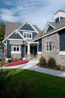 Countryside house with modern Farmhouse exterior design bringing up the traditional style in new classy look Image 18