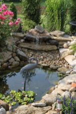 Inspiring small fish pond designs to upgrade the outdoor landscape for more lively and refreshing Image 32