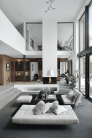 Limitless interior schemes with clever glass partition enlarging wide interior vibes Image 25